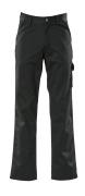 00299-430-09 Pantalones con bolsillos de muslo - negro