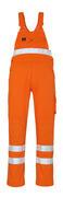 00469-860-14 Peto con bolsillos para rodilleras - naranja de alta vis.