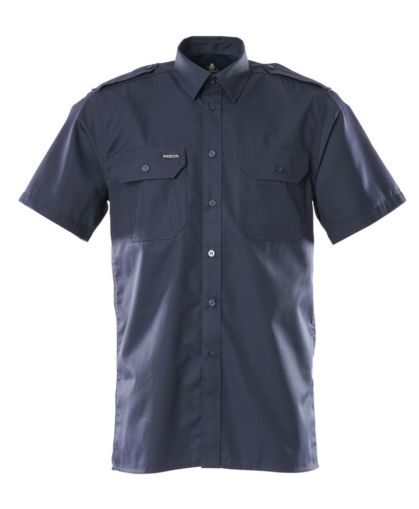 00503-230-01 Camisa, manga corta - azul marino