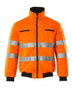 00516-660-14 Chaqueta de piloto - naranja de alta vis.