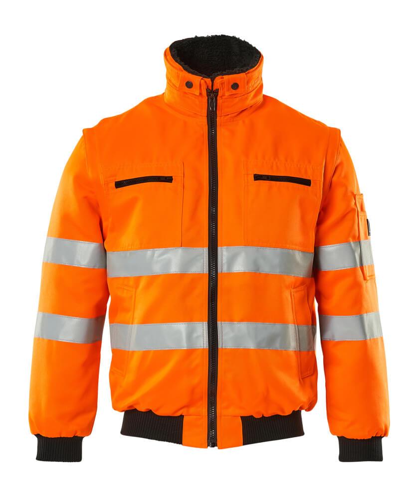 00520-660-14 Chaqueta de piloto - naranja de alta vis.