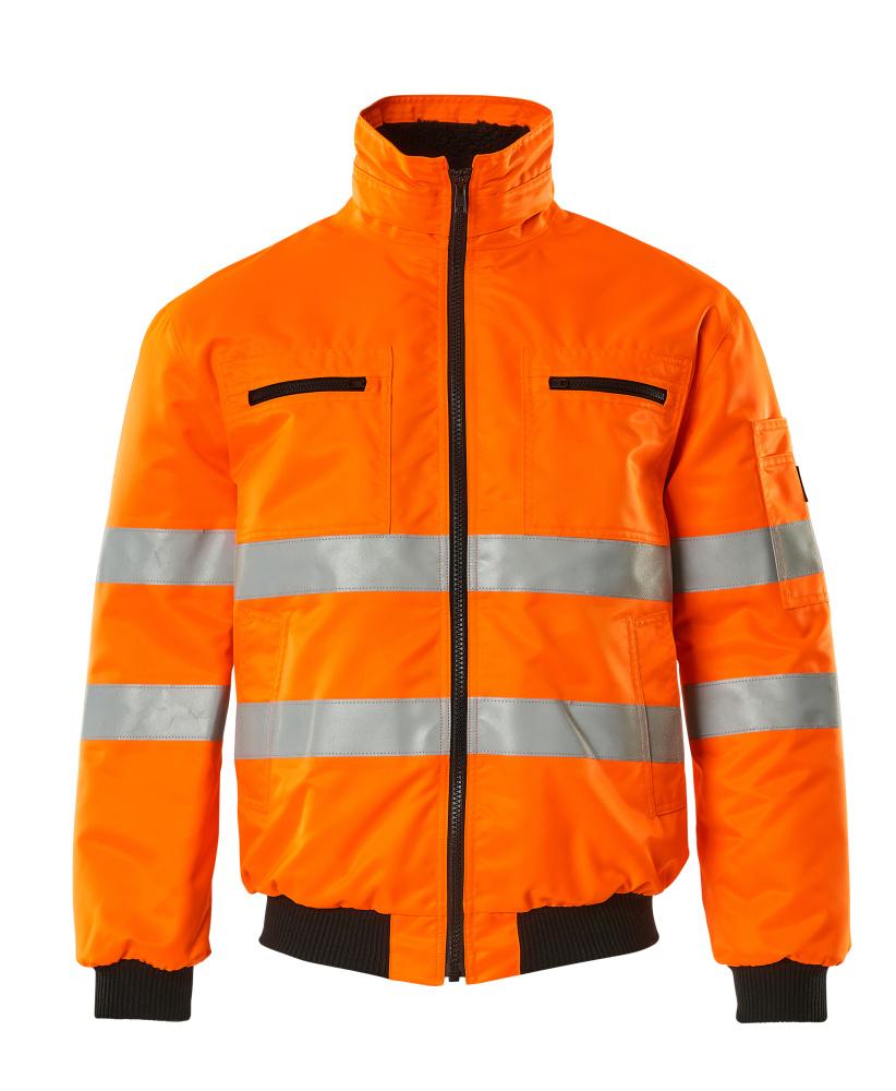 00534-880-14 Chaqueta de piloto - naranja de alta vis.