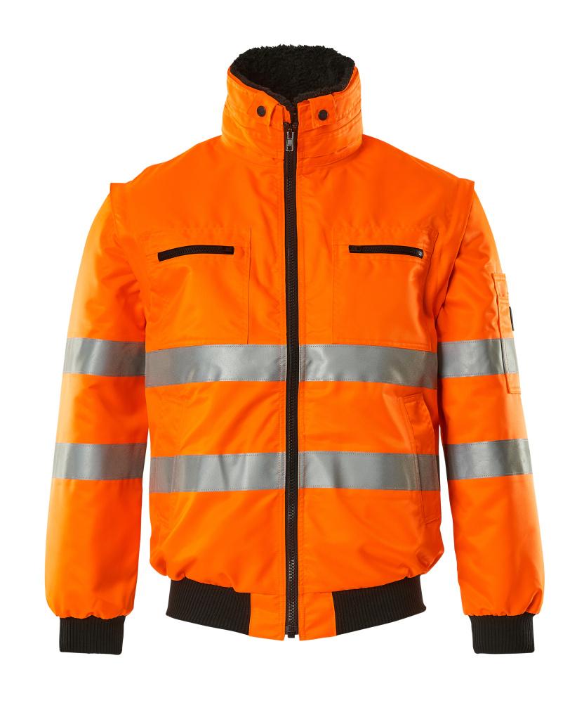 00535-880-14 Chaqueta de piloto - naranja de alta vis.