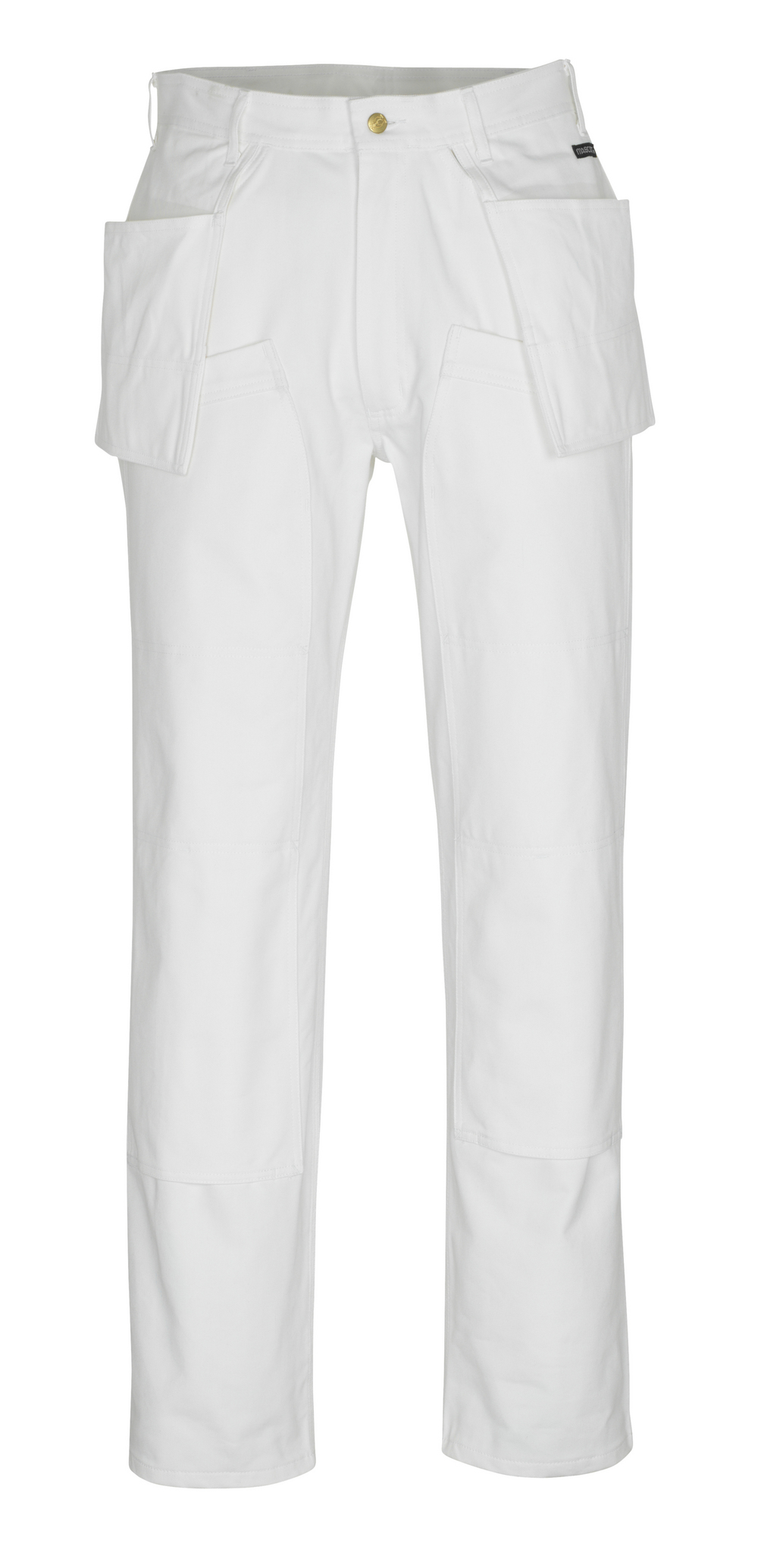 00538-630-06 Pantalones con bolsillos para rodilleras y bolsillos tipo funda - blanco