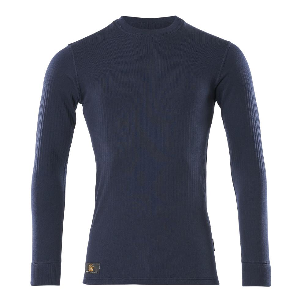 00585-380-01 Camisa interior funcional - azul marino