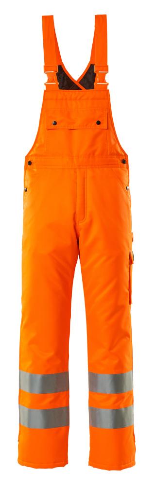 00592-880-14 Peto de invierno - naranja de alta vis.