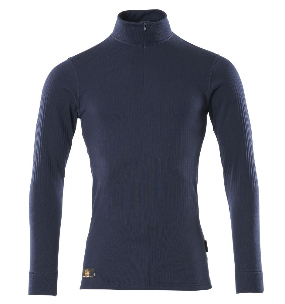 00596-380-01 Camisa interior funcional - azul marino