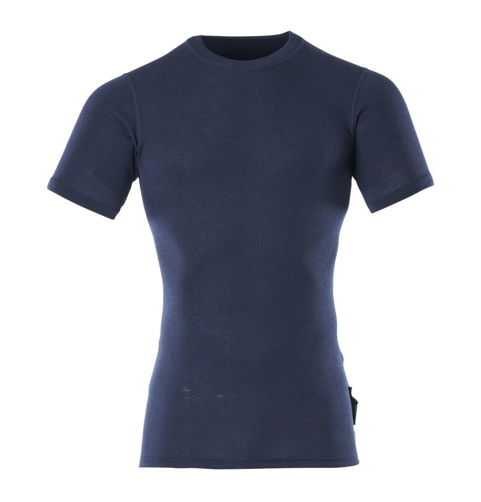 00597-350-01 Camisa interior funcional, manga corta - azul marino