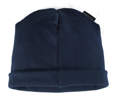 00780-380-01 Sombrero de punto - azul marino