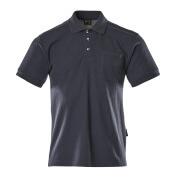 00783-260-01 Polo con bolsillo en el pecho - azul marino