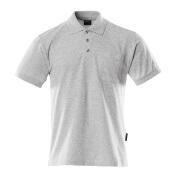 00783-260-08 Polo con bolsillo en el pecho - gris-moteado