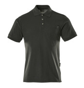 00783-260-09 Polo con bolsillo en el pecho - negro
