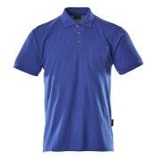 00783-260-11 Polo con bolsillo en el pecho - azul real