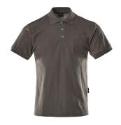 00783-260-18 Polo con bolsillo en el pecho - antracita oscuro