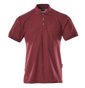 00783-260-22 Polo con bolsillo en el pecho - burdeos