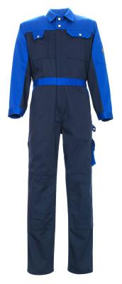 00919-430-111 Mono con bolsillos para rodilleras - azul marino/azul real