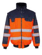 00920-660-141 Chaqueta de piloto - naranja de alta vis./azul marino