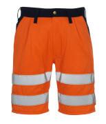 00949-860-141 Pantalones cortos - naranja de alta vis./azul marino