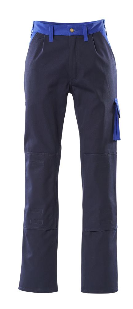 00955-630-111 Pantalones con bolsillos para rodilleras - azul marino/azul real