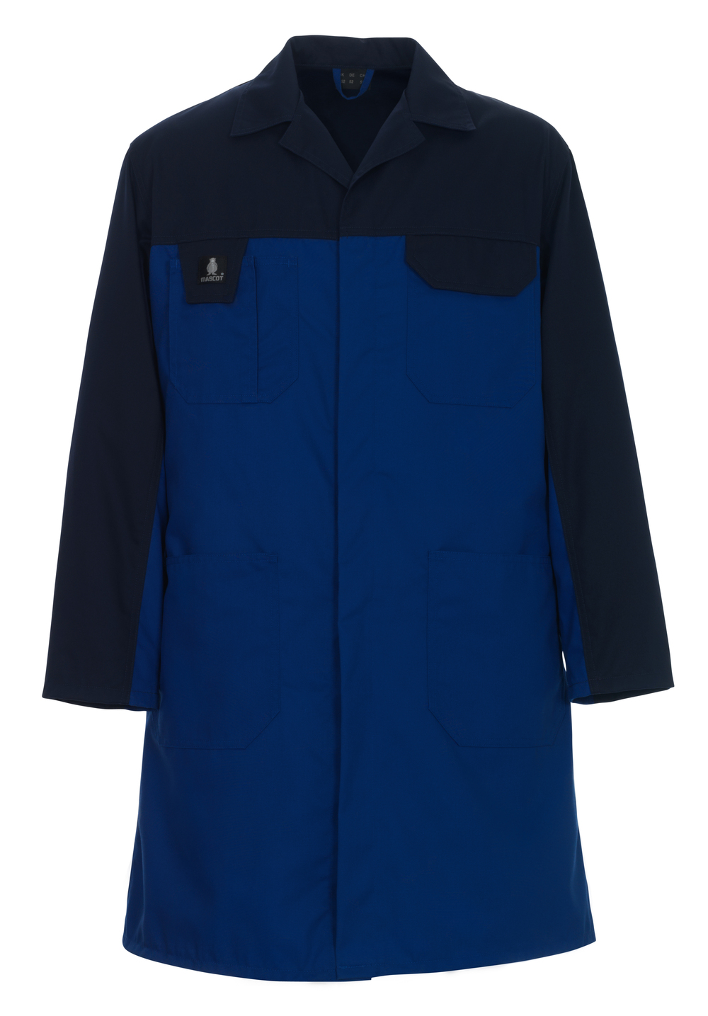 00959-330-1101 Bata de almacén - azul real/azul marino