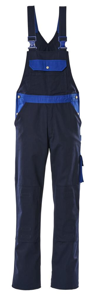 00962-630-111 Peto con bolsillos para rodilleras - azul marino/azul real