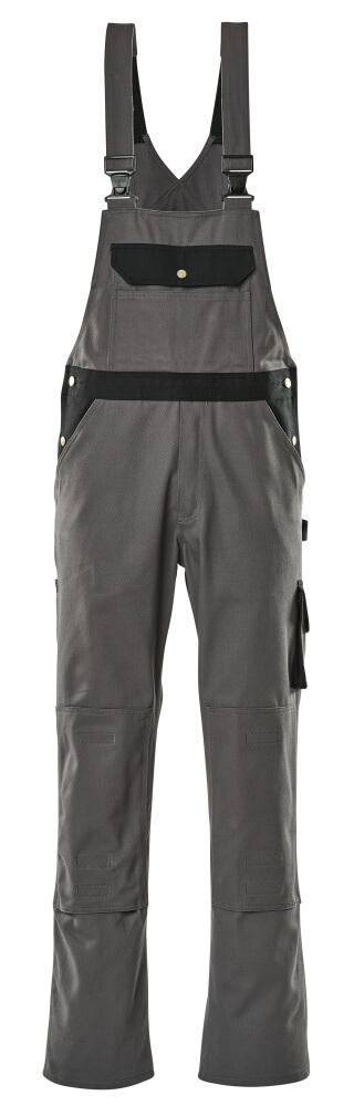 00962-630-8889 Peto con bolsillos para rodilleras - antracita/negro