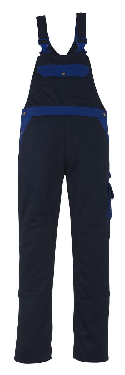 00969-430-1101 Peto con bolsillos para rodilleras - azul real/azul marino