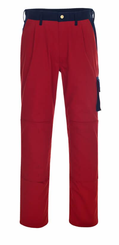 00979-430-111 Pantalones con bolsillos para rodilleras - azul marino/azul real