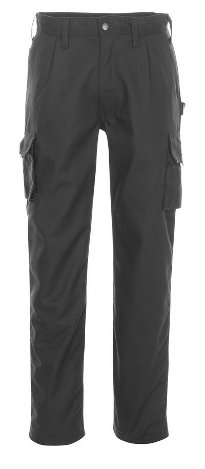 03079-010-09 Pantalones con bolsillos de muslo - negro