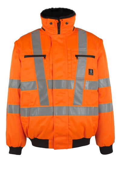 05020-660-14 Chaqueta de piloto - naranja de alta vis.