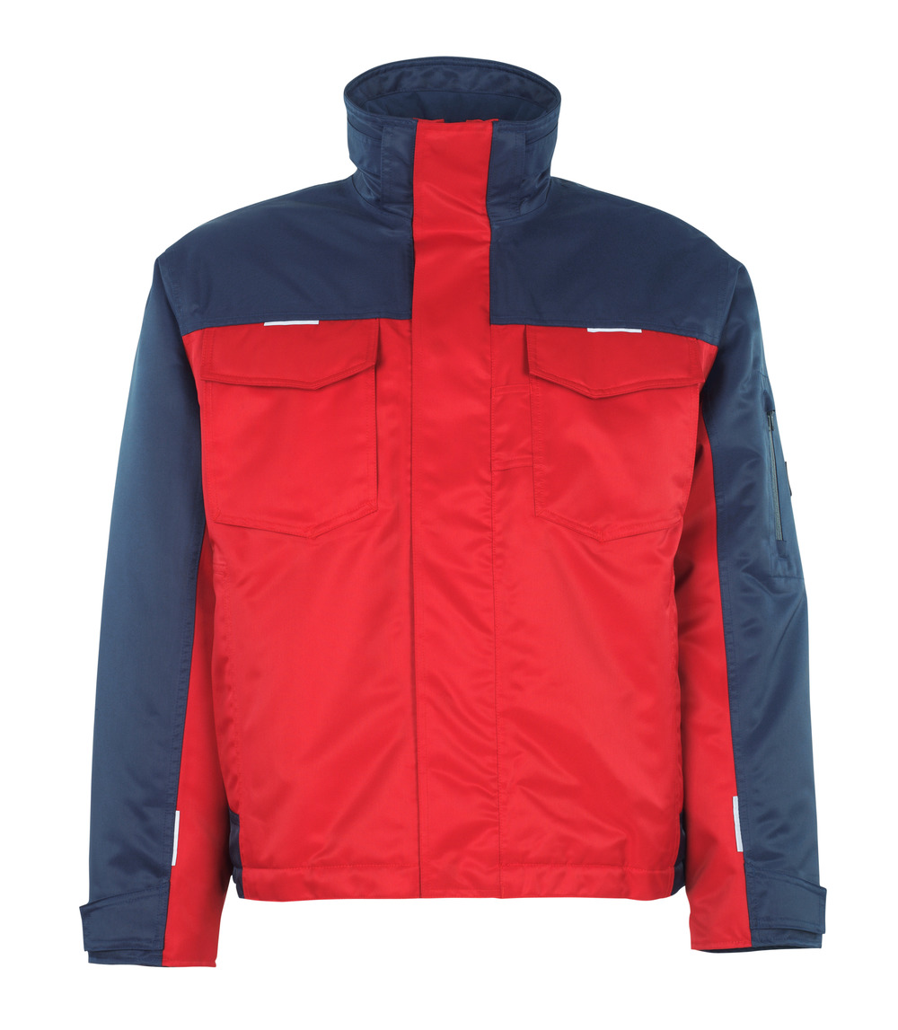 05022-650-21 Chaqueta de invierno - rojo/azul marino