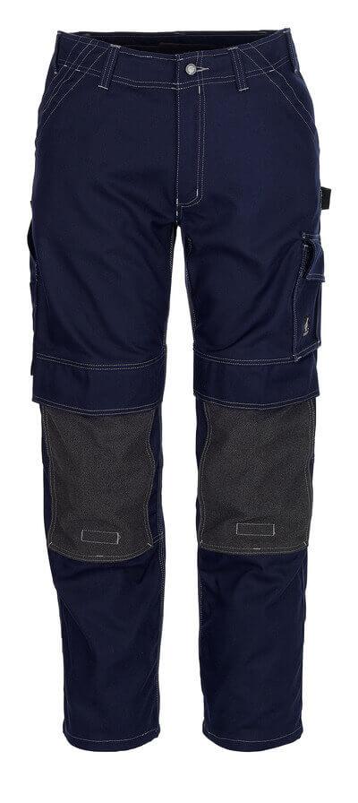 05079-010-01 Pantalones con bolsillos para rodilleras - azul marino