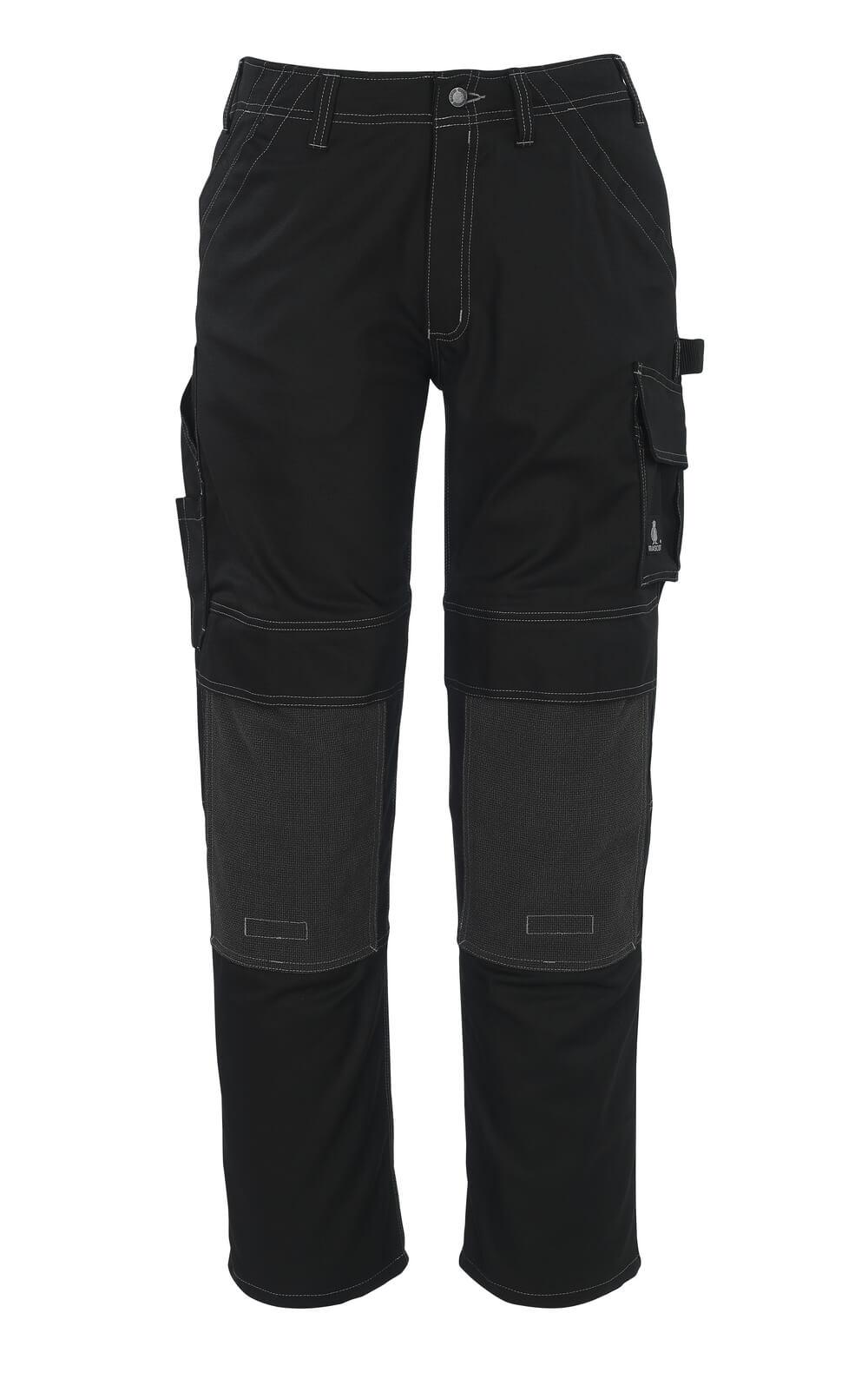 05079-010-09 Pantalones con bolsillos para rodilleras - negro