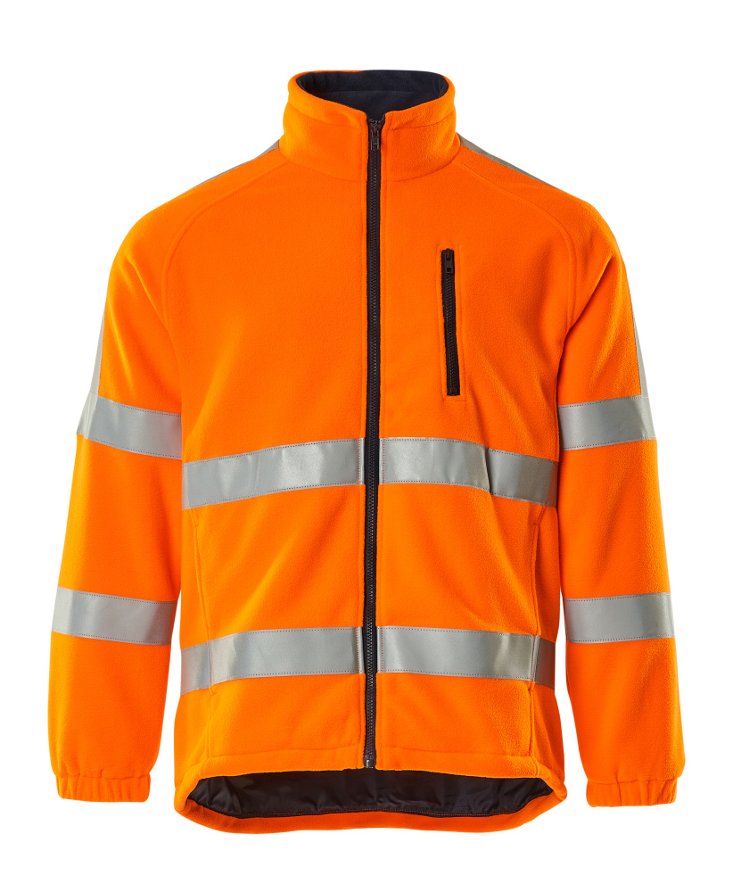 05242-125-14 Chaqueta polar - naranja de alta vis.