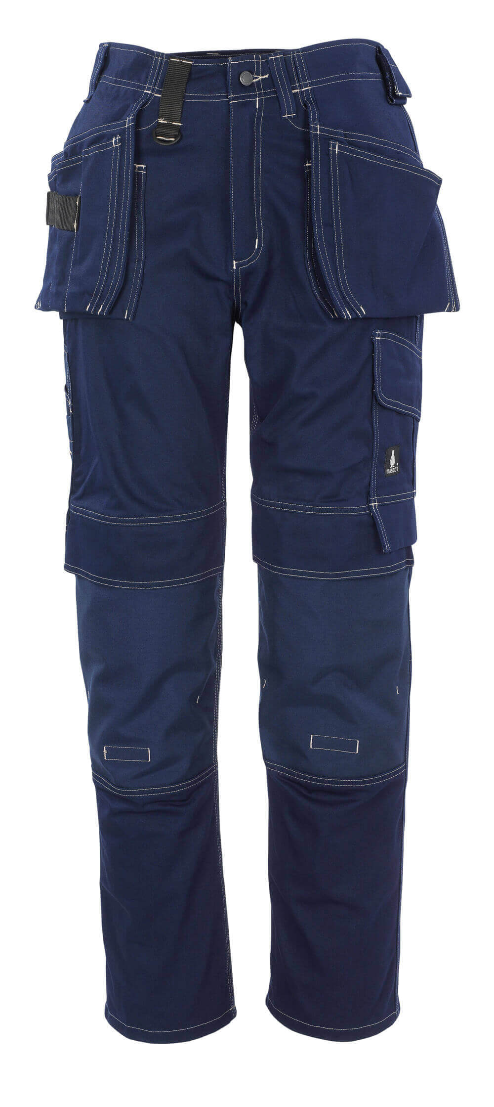 06131-630-01 Pantalones con bolsillos tipo funda - azul marino