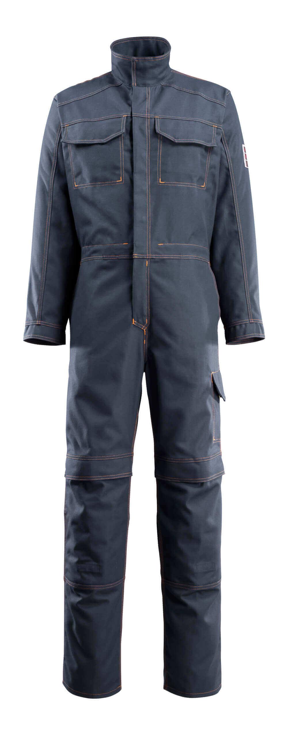06619-135-010 Mono con bolsillos para rodilleras - azul marino oscuro