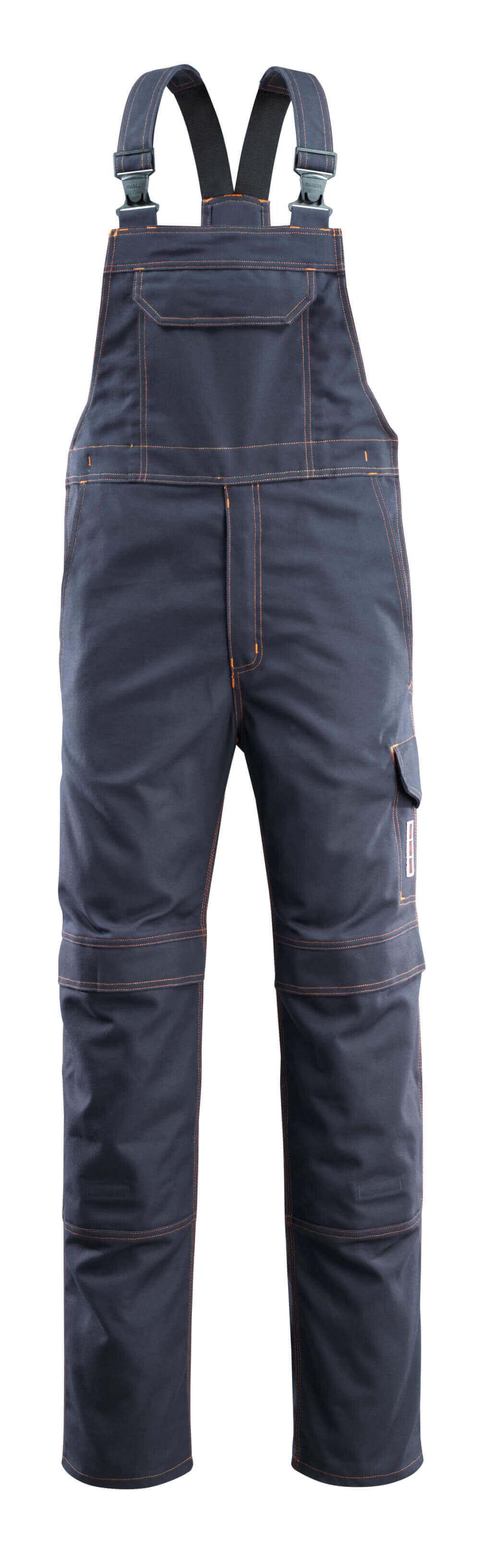 06669-135-010 Peto con bolsillos para rodilleras - azul marino oscuro