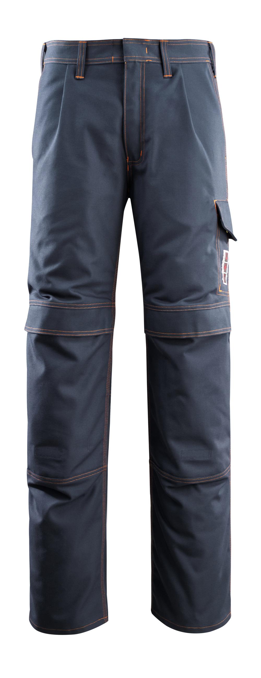 06679-135-010 Pantalones con bolsillos para rodilleras - azul marino oscuro