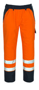 07090-880-141 Cubre pantalón - naranja de alta vis./azul marino