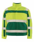 07109-470-1703 Chaqueta - amarillo de alta vis./verde