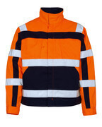 07109-860-141 Chaqueta - naranja de alta vis./azul marino