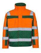 07123-126-1403 Chaqueta de piloto - naranja de alta vis./verde
