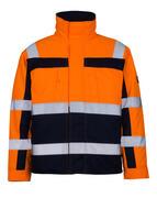 07123-126-141 Chaqueta de piloto - naranja de alta vis./azul marino