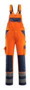 07169-860-141 Peto con bolsillos para rodilleras - naranja de alta vis./azul marino