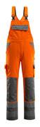 07169-860-14888 Peto con bolsillos para rodilleras - naranja de alta vis./antracita