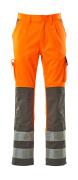 07179-860-14888 Pantalones con bolsillos para rodilleras - naranja de alta vis./antracita