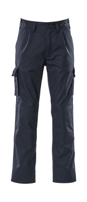 07479-330-01 Pantalones con bolsillos para rodilleras - azul marino