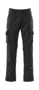 07479-330-09 Pantalones con bolsillos para rodilleras - negro