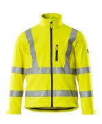 08005-159-17 Chaqueta Softshell - amarillo de alta vis.