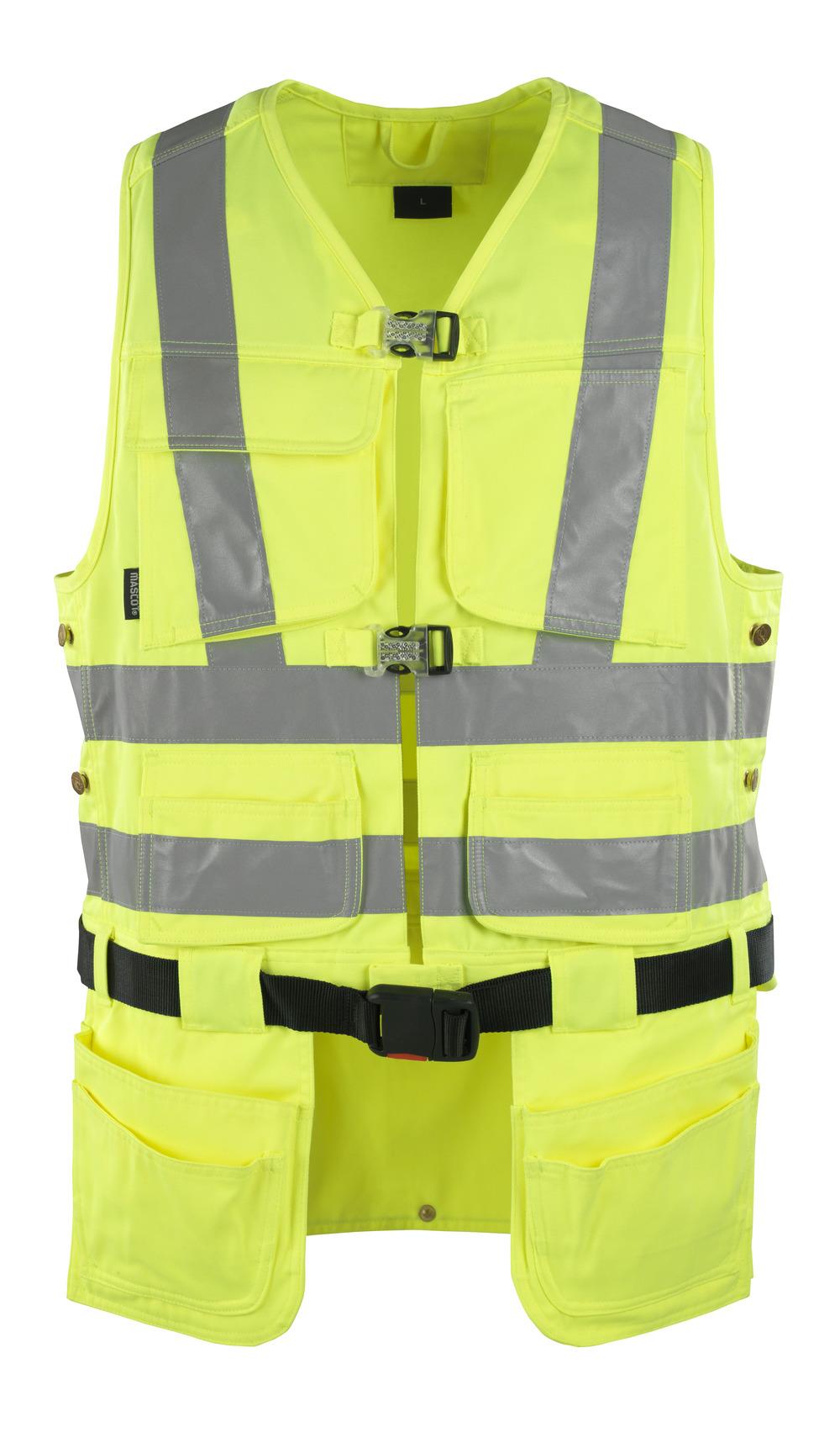 08089-470-17 Chaleco para herramientas - amarillo de alta vis.
